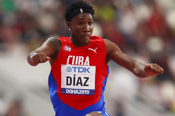 Cuban triple jumper Andy Diaz (Getty Images)