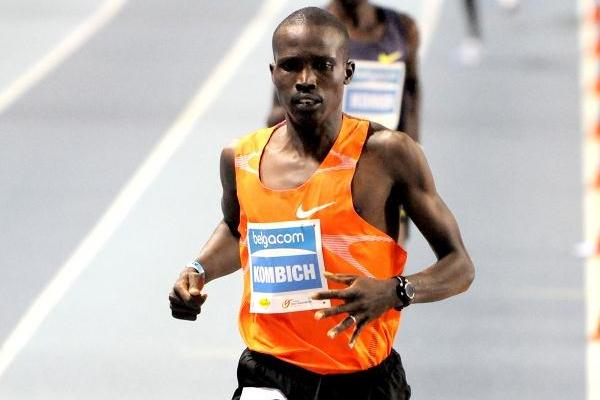 3:34.13 world leader for Ismael Kombich in Gent (Nadia Verhoft)