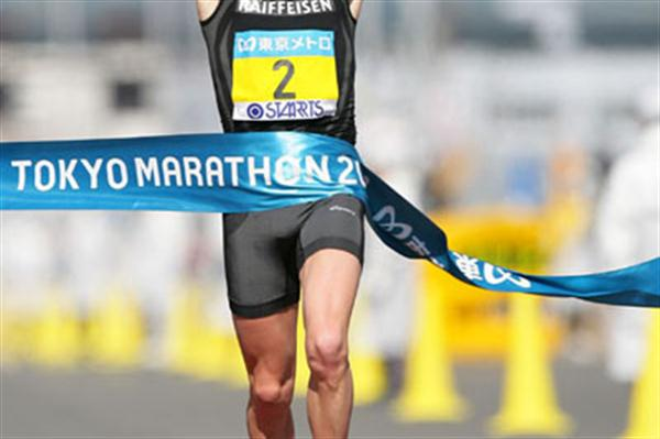 Viktor Röthlin's 2:07:23 Swiss record in Tokyo (Yohei Kamiyama/Agence SHOT)