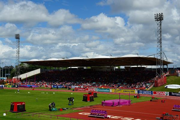 Gateshead International Stadium during the 2013 European Athletics Team Championships (Getty Images)