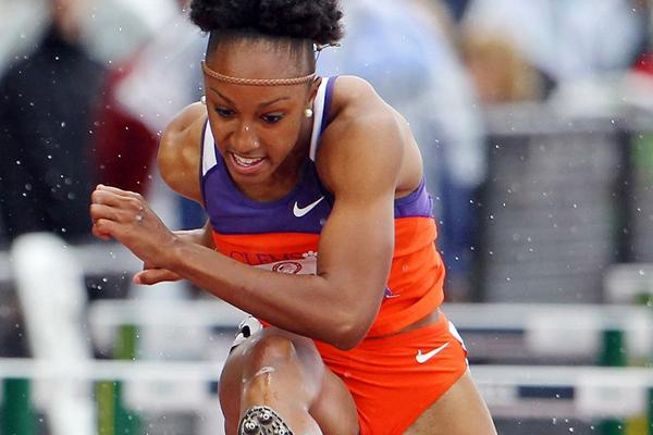 Sprint hurdler Brianna Rollins of the USA (Getty Images)