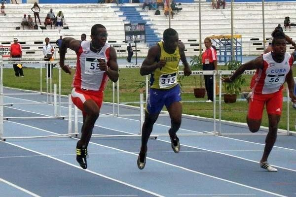 Dayron Robles wins at the 22nd Central American and Caribbean Athletics Championships (Javier Clavelo Robinson)