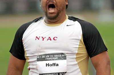Reese Hoffa - dominates at USATF champs (Getty Images)