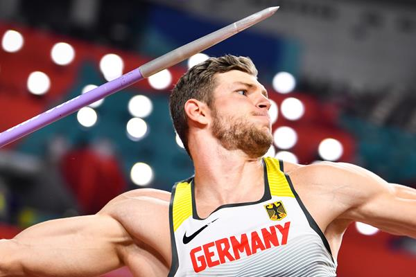 Andreas Hofmann at the IAAF World Athletics Championships Doha 2019 (AFP / Getty Images)