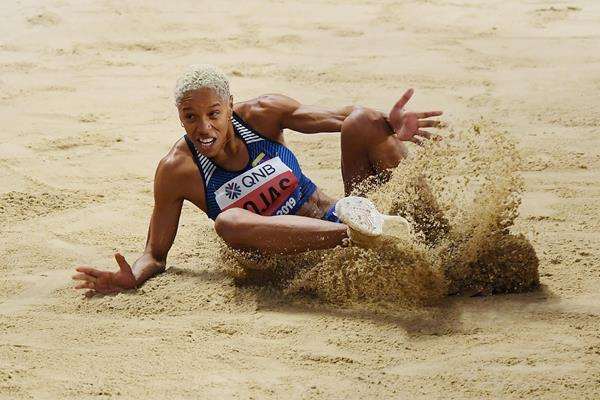 15.37m victory for Yulimar Rojas in the triple jump at the IAAF World Athletics Championships Doha 2019 (Getty Images)