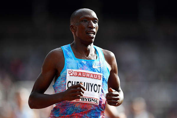 Kenyan middle-distance runner Timothy Cheruiyot (AFP / Getty Images)