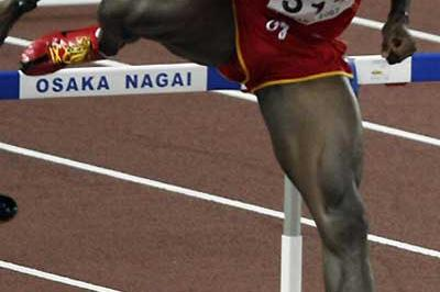 Jackson Quiñónez of Spain at the 2007 World Championships (AFP / Getty Images)