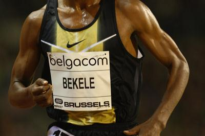 Kenenisa Bekele in Brussels (Getty Images)