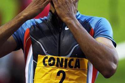 Felix Sanchez, World 400m Hurdles Champion (Allsport)