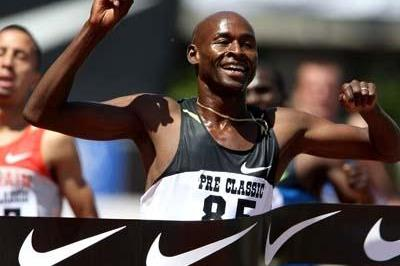 Bernard Lagat victorious in Eugene (Getty Images)