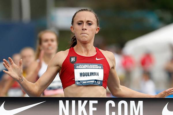 Shelby Houlihan wins the 5000m at the US Championships (Getty Images)