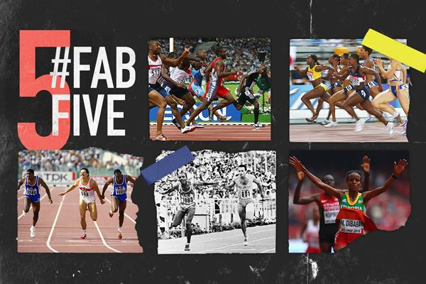 Fab five: close finishes at the World Championships (AFP / Getty Images)