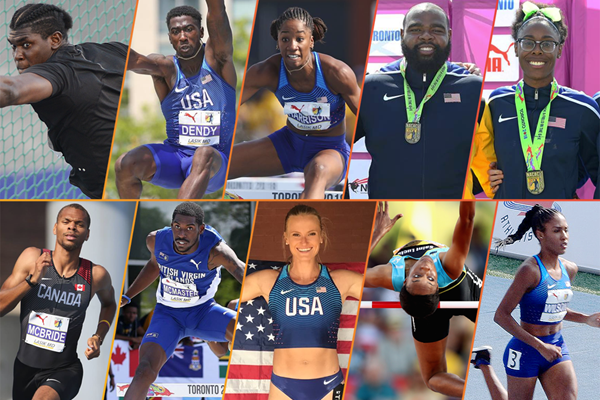 Ten memorable moments from the NACAC Championships in Toronto (Organisers)