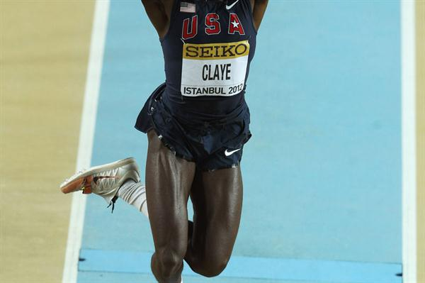 Will Claye of the United States competes in the Men's Triple Jump qualification during day two  - WIC Istanbul  (Getty Images)