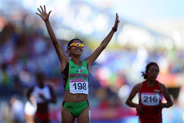 Marisol Romero takes Pan Am 10,000m gold for Mexico in Guadalajara (Getty Images)