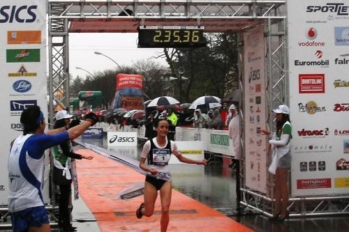 Laura Giordano winning in Treviso (Alberto Zorzi)