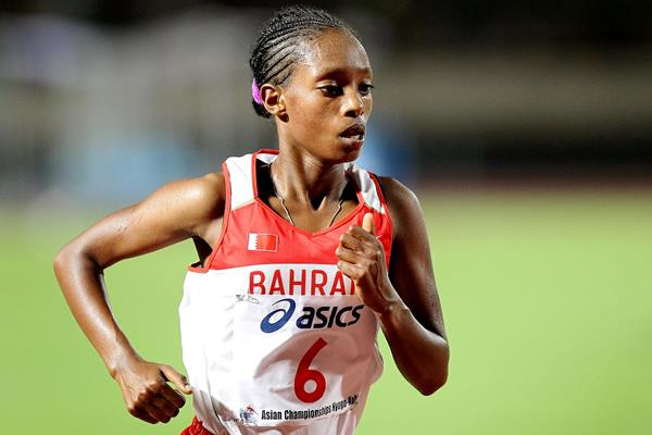 Bahrain's Tejitu Daba in action (Getty Images)