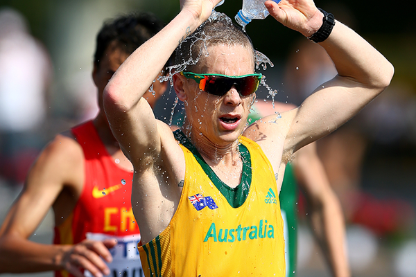 Australian race walker Chris Erickson (Getty Images)