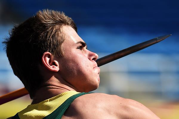 Paul Jacobus Botha at the IAAF World Youth Championships, Cali 2015 (Getty Images)