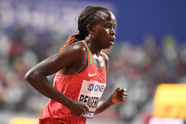 Lilian Kasait Rengeruk at the IAAF World Athletics Championships Doha 2019 (AFP / Getty Images)