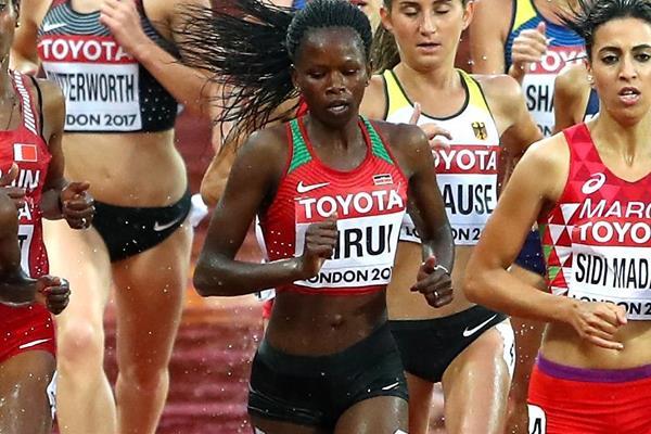 Kenyan steeplechaser Purity Kirui (Getty Images)