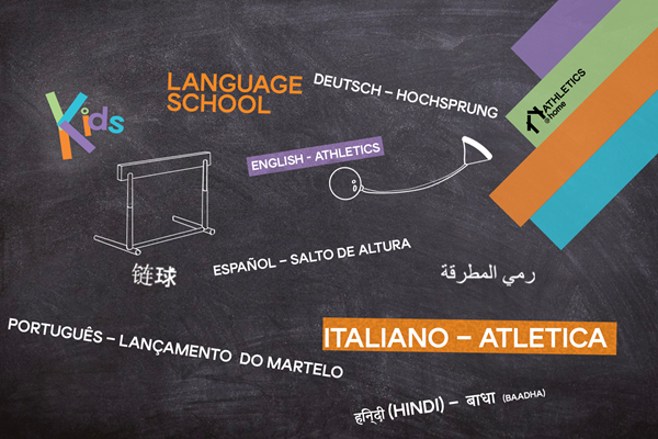 Athletics @ Home language school (WA)