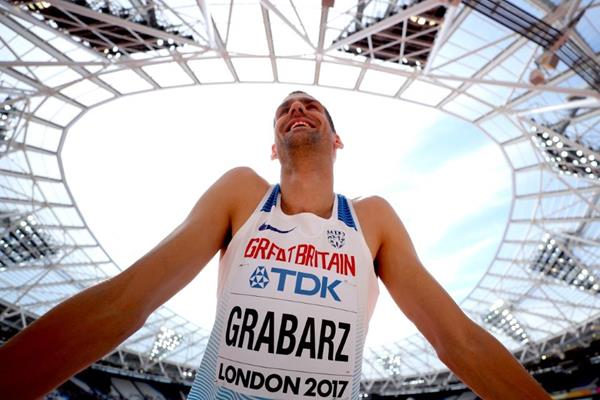 Robbie Grabarz at the IAAF World Championships London 2017 (Getty Images)
