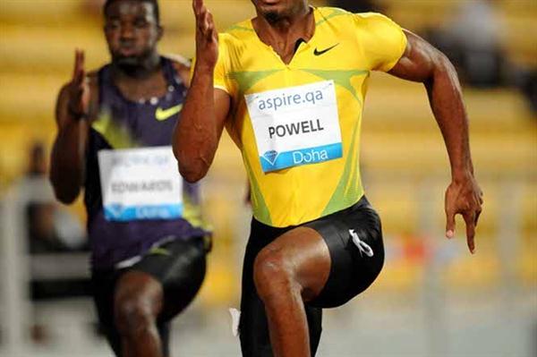 Asafa Powell dominates in Doha (Jiro Mochizuki)