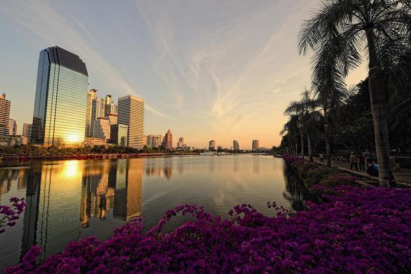 Benjakitti Park in Bangkok (Peerapong Prasutr)