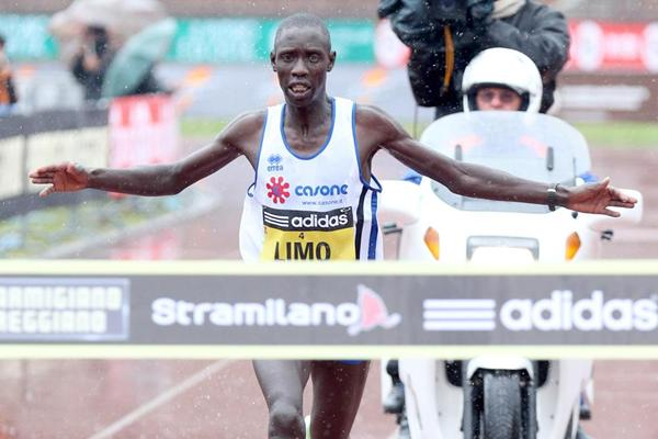 Kiprop Limo wins the Stramilano Half Marathon (Giancarlo Colombo)