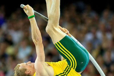 Steve Hooker - Pole Vault gold - Melbourne 2006 (Getty Images)