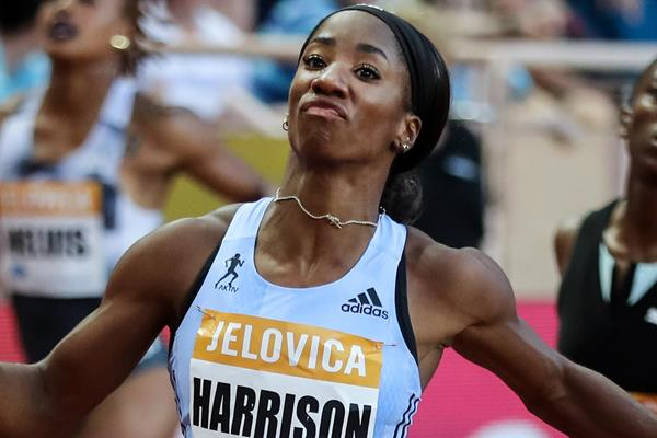 US sprint hurdler Kendra Harrison (AFP / Getty Images)