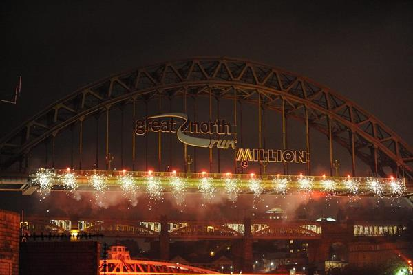 Great North Run Million Opening Ceremony on the banks of the River Tyne, 4 September 2014 (North News and Pictures / organisers)
