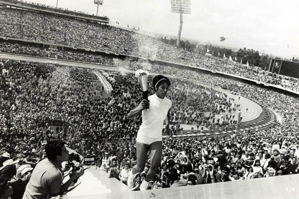 80 Years of Women Athletics at Olympic Games - Enriqueta Basilio - 1968 (Getty Images)