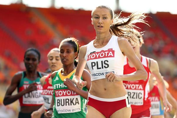 Polish middle-distance runner Renata Plis (Getty Images)