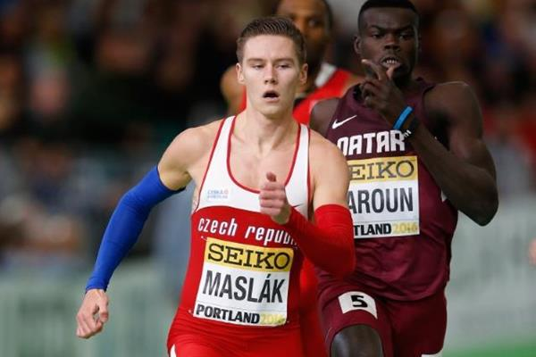 Pavel Maslak at the IAAF World Indoor Championships Portland 2016 (Getty Images)