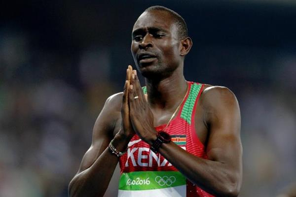David Rudisha at the Rio 2016 Olympic Games (Getty Images)