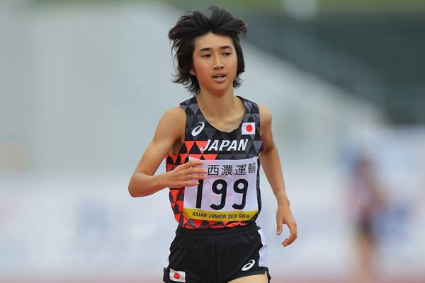 Nozomi Tanaka wins the Asian junior 3000m title in Gifu (organisers)