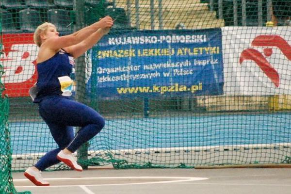 Anita Wlodarczyk at the 2016 Polish Championships (Grzegorz Kowalski / PZLA)