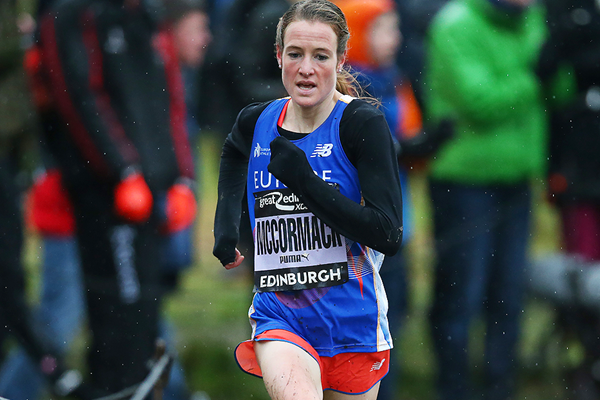 Fionnuala McCormack in action at the Great Edinburgh X Country (Getty Images)