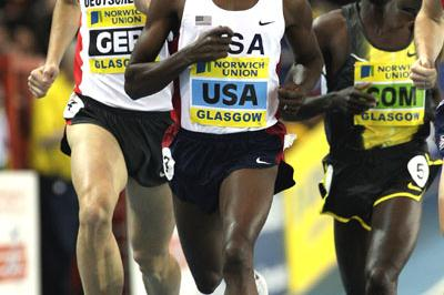 Solid '08 debut for Bernard Lagat in Glasgow (Getty Images)
