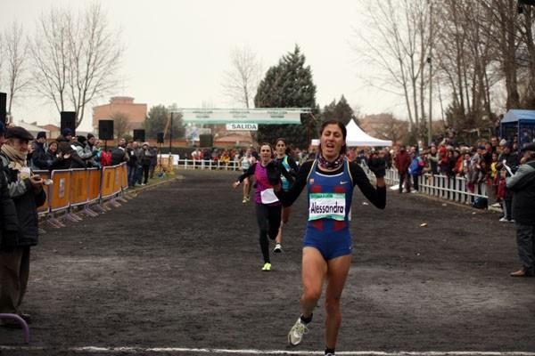 Alessandra Aguilar wins 2010 Venta de Baños xc race (Alfambra Fundación ANOC)