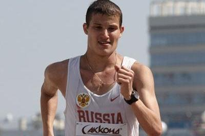 Vladimir Kanaykin of Russia on his way to winning the silver medal (Getty Images)