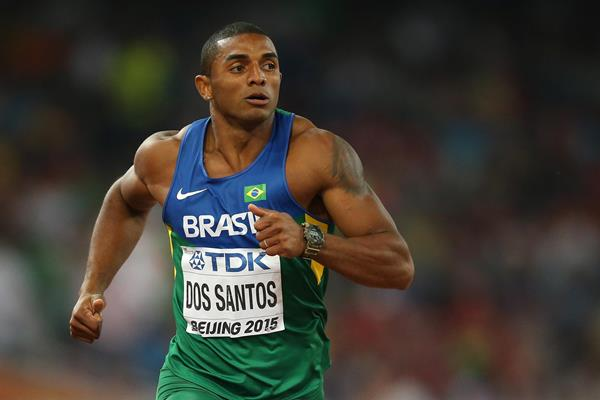 Brazilian decathlete Felipe Dos Santos (Getty Images)