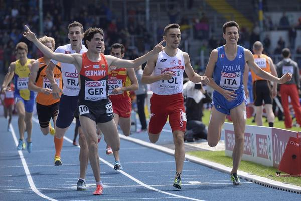 Timo Benitz pulls off a surprise victory in the 800m at the European Team Championships (Getty Images)