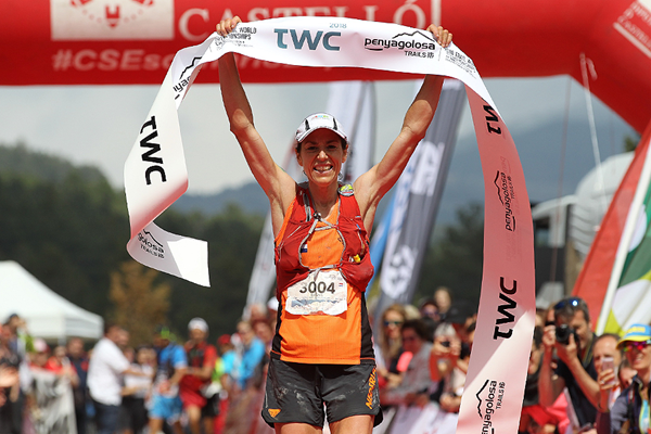 Ragna Debats wins the Trail World Championships in Castellon (Jean-Pierre Durand)