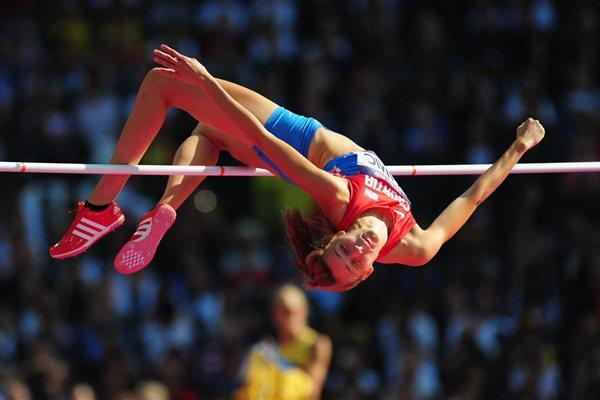 Ana Simic of Croatia competes during the Women's High Jump qualification  the London 2012 Olympic Games on August 9, 2012 (Getty Images)