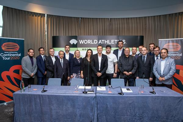 World Athletics Continental Tour meeting organisers in Monaco (Philippe Fitte)