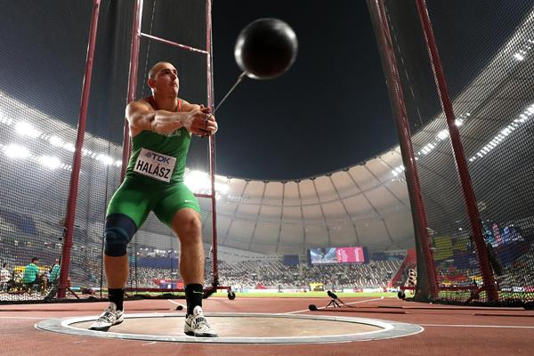 Bence Halasz in the hammer at the IAAF World Athletics Championships Doha 2019 (Getty Images)