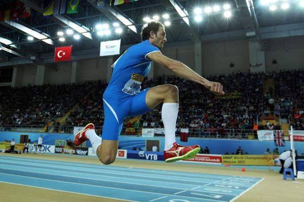 Fabrizio Donato of Italy competes in the Men's Triple Jump Final during day Three - WIC Istanbul (Getty Images)